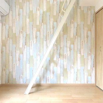 この構図にどこか美しさを感じる。※写真は2階の同間取り別部屋のものです
