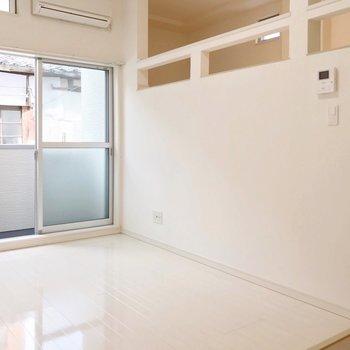 壁の面積も広いので、家具の配置にも困ることが無さそうです。