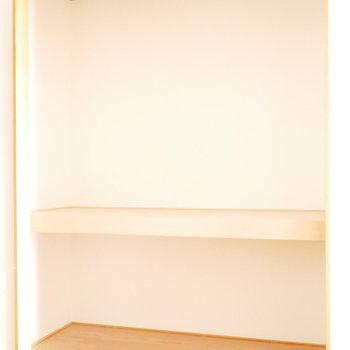 収納は2箇所。こちらは大容量 ※写真は似た間取りのお部屋のものです