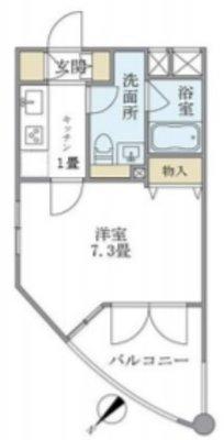 東京都、宮殿住み。 の間取り