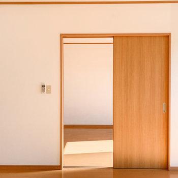 【LDK】さて、お隣の洋室へ。