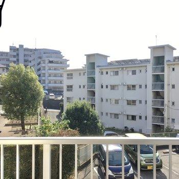 住宅街が広がっています。