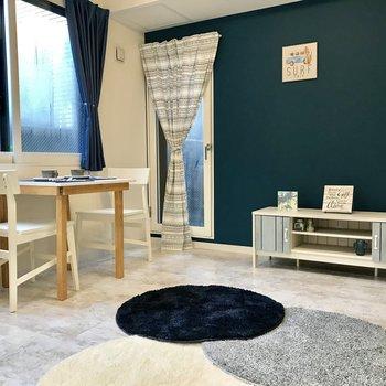 ※別部屋のモデルルームです!家具レンタルやインテリアの参考にしてください◎