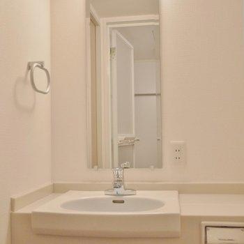 お隣にホテルライクな洗面