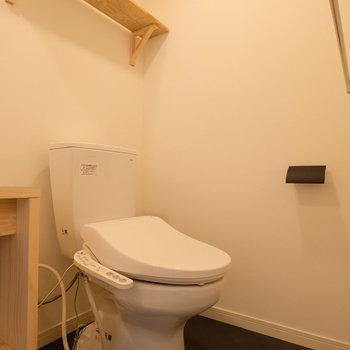 トイレの機能は安心です。
