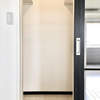 ウォークインはうれしいポイント!※写真は7階同間取り・別部屋のものです。