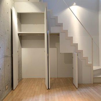 【LDK】中の空間は一つになっているので、使いやすいです。