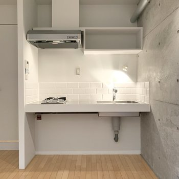 【LDK】キッチン下を有効活用すると良さそう。