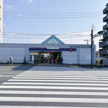 最寄りは井の頭線の新代田駅です。