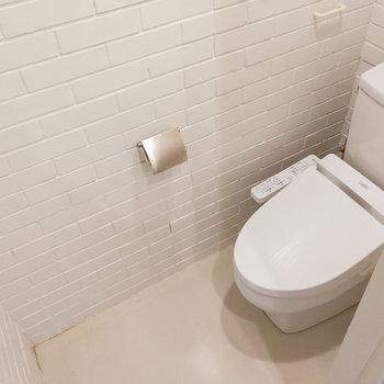 1階にもトイレがあるんです。