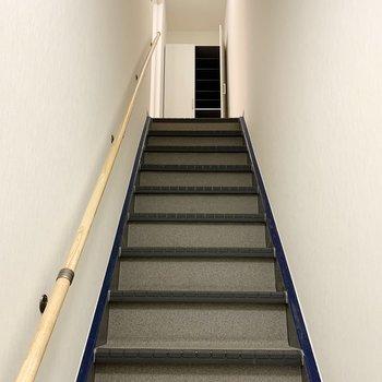 階段を上るとお部屋に到着。