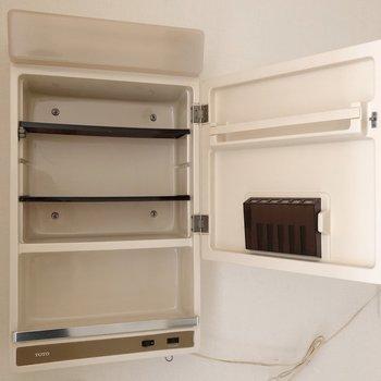 【1階】歯ブラシは見えないように。※写真は1階の同間取り別部屋のものです