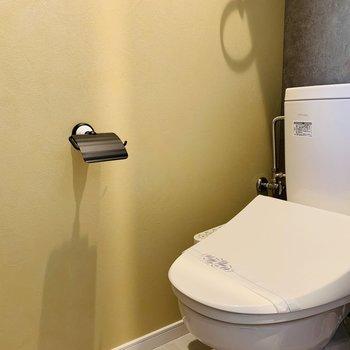 トイレは落ち着いた雰囲気
