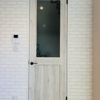 この扉がかわいいの♪