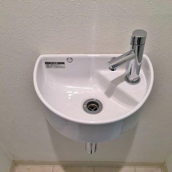 前にはきっちり手洗い