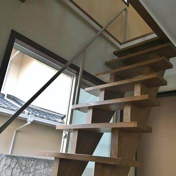 それではお二階へ