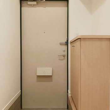 スッキリとした玄関です。
