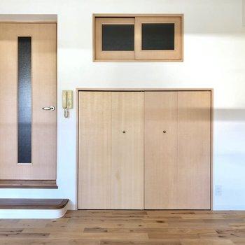 小さい扉は何かしら・・・