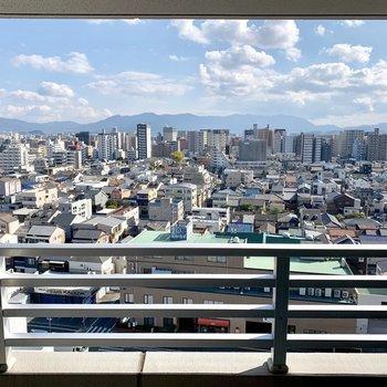 箱崎の街を一望出来るんです♬