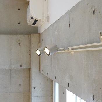 【照明】コンクリにスポットライトは鉄板よね。