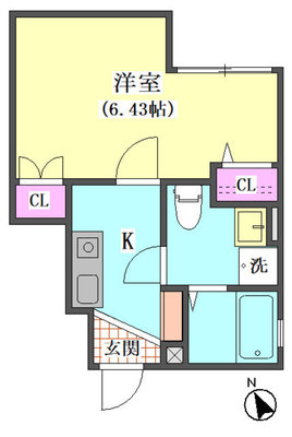 仮)大田区東矢口3丁目1410新築アパー の間取り