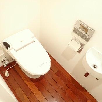 トイレがかわいいです。