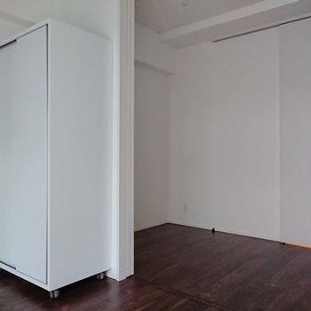 2部屋で約8帖と、家具配置に工夫をしたいところ。※写真は前回募集時のものです