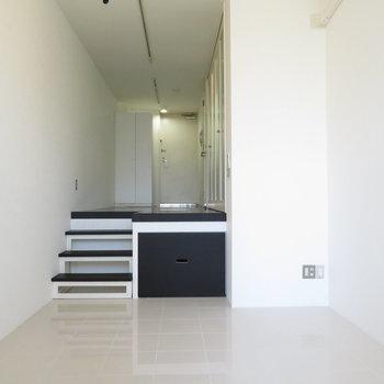 いかにもデザイナーズマンションのお部屋