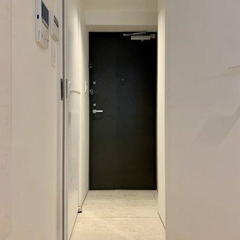 【1F】玄関は段差がありません