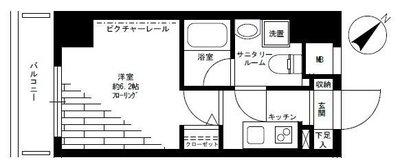グリフィン横浜・ポートサイド弐番館 の間取り