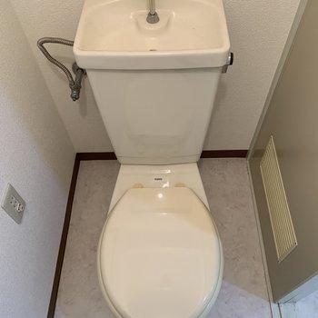 【工事前】トイレもきれいなので・・・