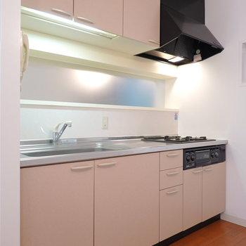 キッチン自体は割と普通かな。