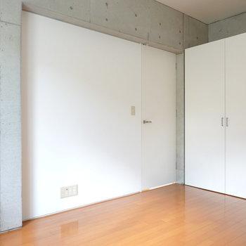 収納はこの部屋にあります。