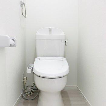 トイレの清潔感も◎