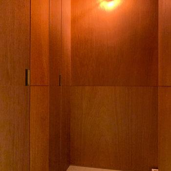 キッチンの左側に、ランドリーズペースがあります。