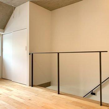 【上階】こちら側の収納は、