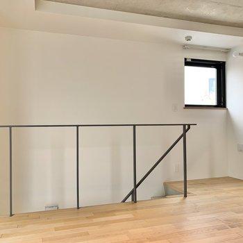 【上階】小窓で換気は◯