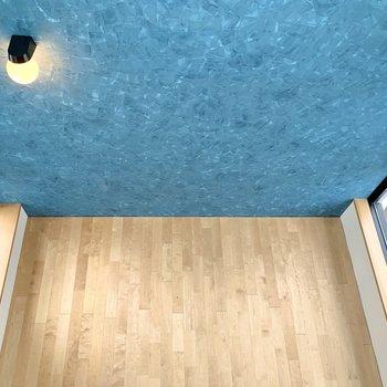 【上階】上から覗くとこんな感じ