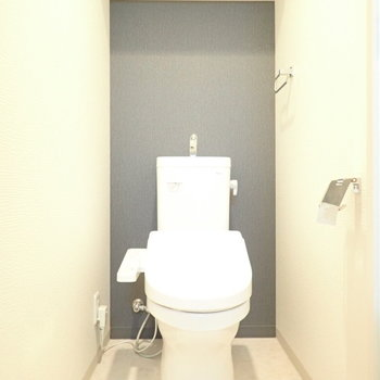 トイレもゆったりめ。