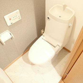 トイレは綺麗です。