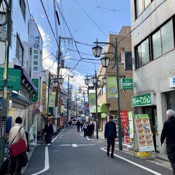 【東松原】飲食店がたくさんあり、賑わっています