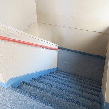 3階まに階段になります。