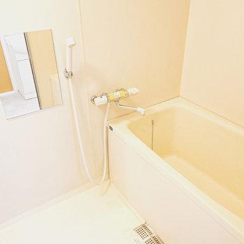 少し広めの浴槽のあるお風呂です。
