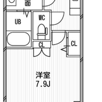 一人暮らしにぴったりサイズ。角部屋です!