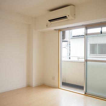 家電や家具をつけることも可能ですよ!(※写真は2階の同間取り別部屋のものです)