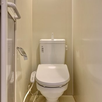 トイレはしっかり個室!