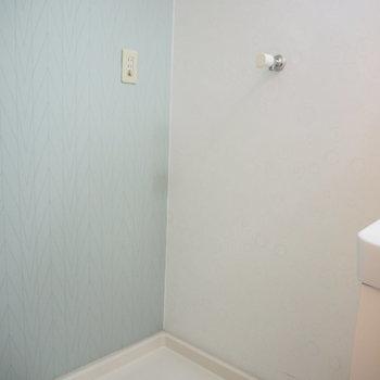 洗濯機置場です。※写真は4階同間取り・別部屋のものです。