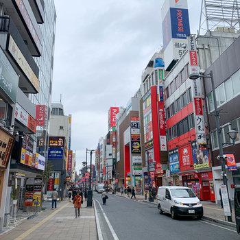 大宮駅周辺はお店がたくさんあります