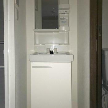 しっかりと収納部分が確保されていて便利です。※フラッシュを使用して撮影しています
