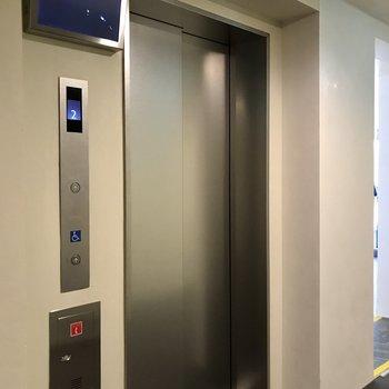 エレベーター付きはありがたい。